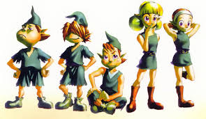 Personnages Kokiri